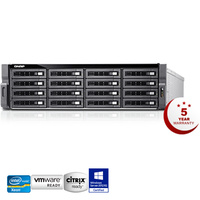 QNAP TDS-16489U-SB3 20 Bay Diskless Enterprise TurboNAS Xeon E5-2630 256GB RAM