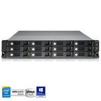 QNAP TS-1253U-RP 12 Bay Rackmount Diskless NAS - Quad Core 2.0GHz CPU, 4GB RAM