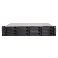QNAP TS-1273U-RP-64G 12 Bay quad-core NAS with dual 10GbE SFP+ ports 64GB RAM