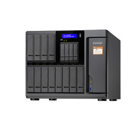 QNAP TS-1635AX-4G 16 Bay Diskless NAS Quad-Core ARMADA 1.6GHz CPU 4GB RAM