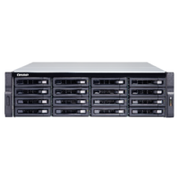 QNAP TS-1673U-RP-16G 16 Bay quad-core NAS with dual 10GbE SFP+ ports 16GB RAM