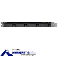 QNAP TS-431XU-RP-2G 4 Bay Diskless Rack NAS Alpine AL-314 1.7GHz CPU 2GB RAM