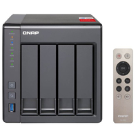 QNAP TS-451+-8G 4 Bay Diskless NAS Quad-core 2.0GHz CPU 8GB RAM