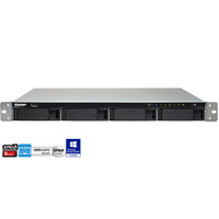 QNAP TS-463U-4G 4 Bay 1U Rackmount Diskless NAS - Quad Core 2.0GHz CPU, 4GB RAM