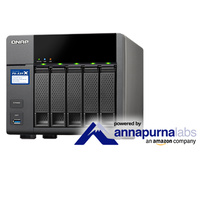 QNAP TS-531X-8G 5 Bay Diskless NAS - Alpine AL-314 Quad-core CPU 8GB DDR3 RAM