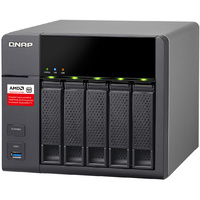 QNAP TS-563-8G 5-bay Diskless Business NAS - AMD Quad-core 2.0GHz CPU, 8GB RAM