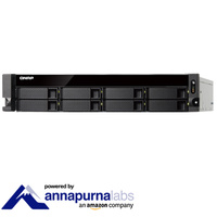 QNAP TS-831XU-4G 8 Bay Diskless Rack NAS Alpine AL-314 1.7GHz CPU 4GB RAM