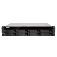 QNAP TS-873U-RP-64G 8 Bay quad-core NAS with dual 10GbE SFP+ ports 64GB RAM
