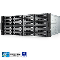 QNAP TS-EC2480U-E3-4GE-R2 24 Bay Enterprise NAS Quad-core Xeon 4GB RAM