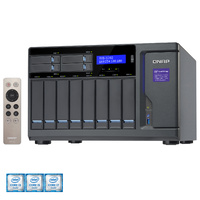 QNAP TVS-1282-i7-64G 12-Bay TurboNAS, SATA 6G, Core™ i7-6700 3.4 GHz, 64GB RAM