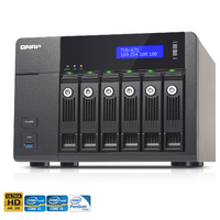 QNAP TVS-671-i5-8G 6-Bay Diskless Turbo vNAS - i5-4590S Quad-Core, 8GB RAM