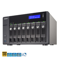 QNAP TVS-871-i7-16G 8 Bay Diskless NAS - Quad Core 3.2GHz Processor, 16GB RAM