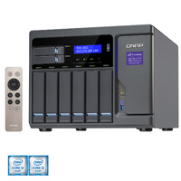 QNAP TVS-882-i5-16G 8 Bay Diskless NAS i5-6500 Quad-core 16GB RAM