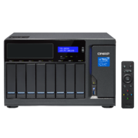 QNAP TVS-882BR-ODD-i7-32G 8 Bay Diskless NAS Quad-core i7-7700 CPU 32GB RAM
