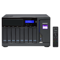 QNAP TVS-882BRT3-ODD-i7-32G 8 Bay Diskless NAS Quad-core i7-7700 CPU 32GB RAM