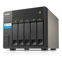 QNAP TX-500P 5 Bay Storage Expansion Enclosure for Thunderbolt NAS