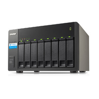 QNAP TX-800P 8 Bay Storage Expansion Enclosure for Thunderbolt NAS