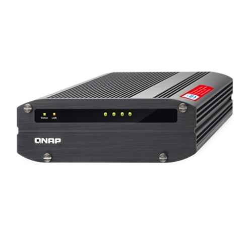 QNAP IS-453S-8G 4-bay compact & fanless quad-core industrial NAS for harsh environments