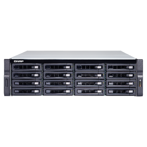 QNAP TS-1673U-RP-64G 16 Bay quad-core NAS with dual 10GbE SFP+ ports 64GB RAM