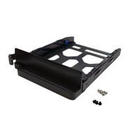 "QNAP Black HDD Tray for 3.5""and 2.5"" Drives Without Key Lock for TS-253B,TS-453B,TS-653B"