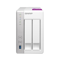 Qnap TS-231P2-1G 2-bay Personal Cloud NAS with DLNA, ARM Cortex A15 1.7GHz Quad Core, 1GB RAM