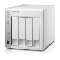 QNAP TS-431P 4 Bay Diskless NAS - ARM Cortex-A15 dual-core 1.4GHz CPU