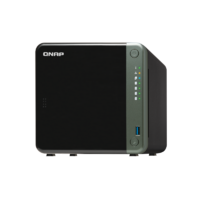QNAP TS-453D-4G 4-Bay NAS Intel Celeron J4125 quad-core 2.0GHz (up to 2.7GHz) 4GB DDR4 SODIMM RAM