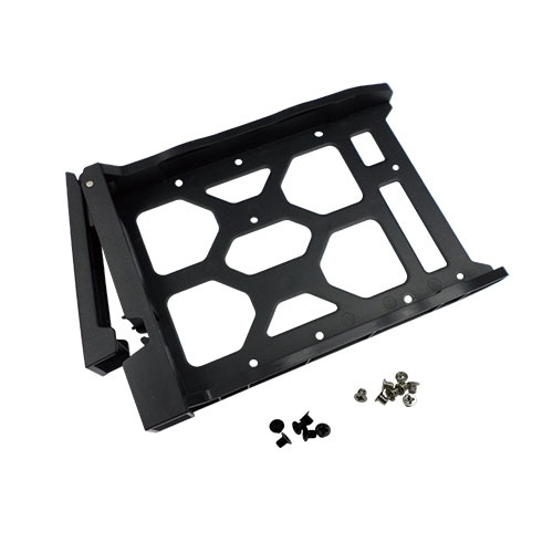 QNAP HDD Tray Without Key Lock for TS-251PLUS,TS-451PLUS,TS-431X,TS-431X2 - Black Plastic